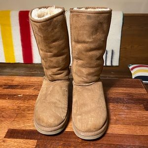 UGG Shearling Slip On Boots 7